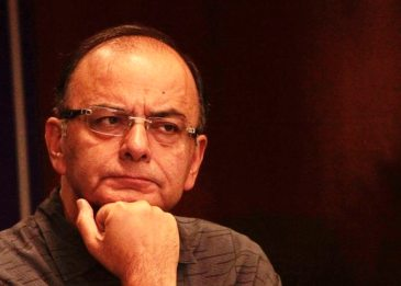 Finance Minister Arun Jaitley addressing  at the Indian Cost Accounts Service Day in New Delhi on Sunday. Express Photo By amit mehra 09 August 2015
